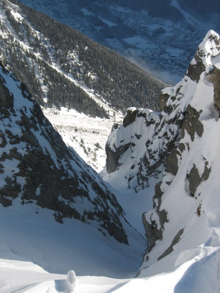 Couloir ENSA, Brevent : Chamonix Topo